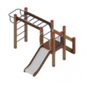 Детский игровой комплекс «Карапуз» H=750 3060х2710х1500