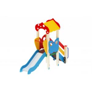 Детский игровой комплекс                           Полянка Горка 750                                           2880*950*2860