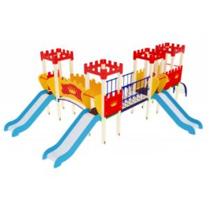 Детский игровой комплекс                          Королевство Горка 900                                           6700*4420*2730