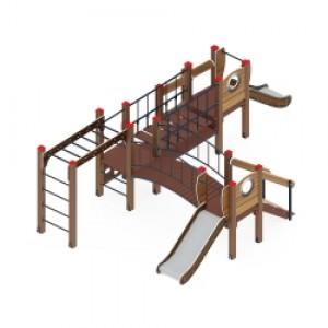 Детский игровой комплекс                           Карапуз Горка 750                                           5830*3720*1550