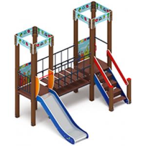 Детский игровой комплекс «Королевство» 3110х2480х2650