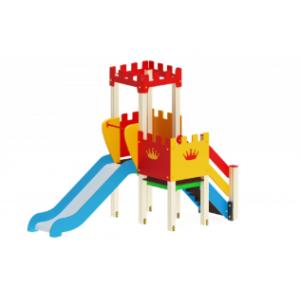 Детский игровой комплекс                           Королевство Горка 900                                           1510*3120*2730