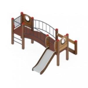 Детский игровой комплекс                          Карапуз Горка 750                                           3060х3950х1500