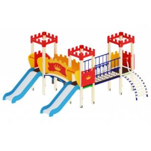 Детский игровой комплекс                           Королевство Горка 900                                           4420*4000*2730