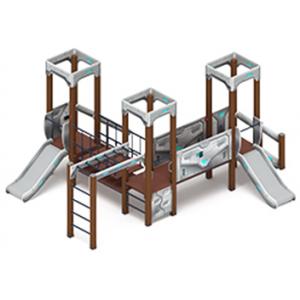Детский игровой комплекс «Королевство»  4330х5220х2650
