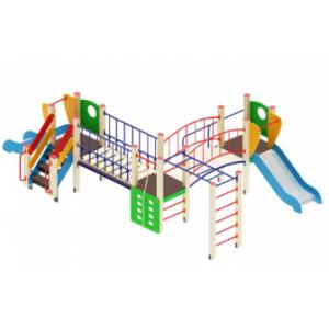Детский игровой комплекс                           Карапуз Горка 750                                           5910х3830х1500