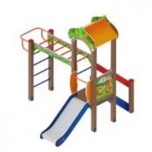 Детский игровой комплекс «Полянка» 2680*2670*3000