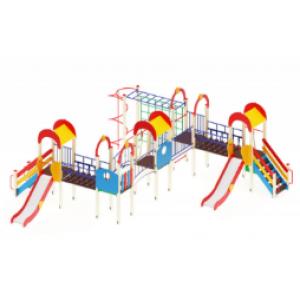 Детский игровой комплекс                           Солнышко Горка 1200                                           8410х8400х3000