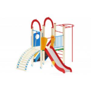 Детский игровой комплекс                           Играйте с нами Горка 1200                                           4100*4370*3000