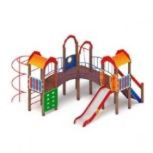 Детский игровой комплекс                           Городок Горка 1200                                           4740х4890х3000