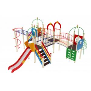 Детский игровой комплекс                           Навина Горка 1200                                           8080*7040*3200