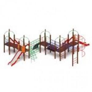 Детский игровой комплекс                           Навина Горка 1200                                           10700х9400х3200