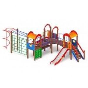 Детский игровой комплекс                           Городок Горка 1200                                           7350х3540х3000