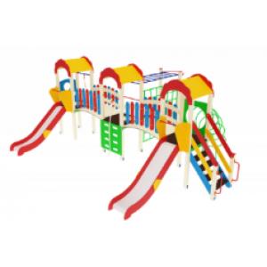 Детский игровой комплекс                           Городок Горка 1200                                           7200х5770х3000