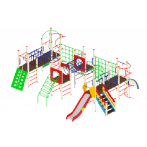 Детский игровой комплекс                          Спорт Горка 1200                                           8350х7020х3320