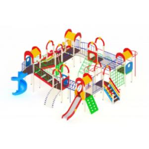 Детский игровой комплекс                           Остров детства Горки 1200, 2000                                           10370*9870*4000