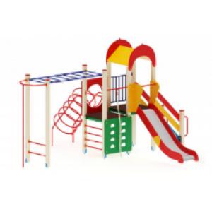 Детский игровой комплекс                       Играйте с нами Горка 1200                                           6050х4870х3000