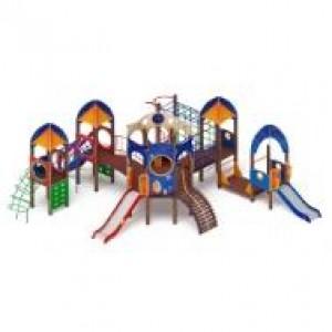 Детский игровой комплекс                           Космопорт Горка 1200, 750                                           8835*8310*3470