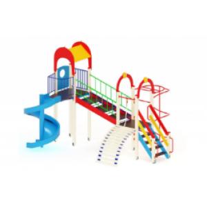 Детский игровой комплекс                           Рада Горка 2000   6030*4700*4000