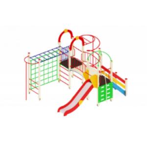 Детский игровой комплекс                          Навина Горка 1200                                           4950х3520х3200