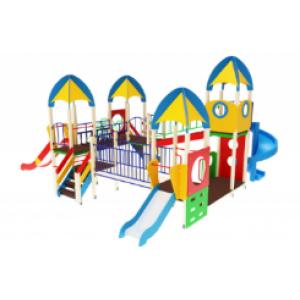 Детский игровой комплекс                            Космопорт Горки 750, 1500, 2000                                           7900*7170*4220