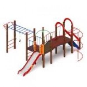 Детский игровой комплекс                           Навина Горка 1200                                           5750х6600х3200