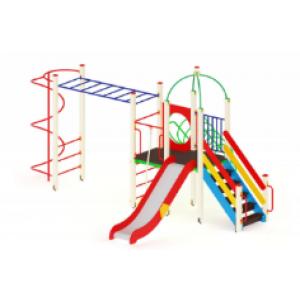 Детский игровой комплекс                          Навина Горка 1200                                           6050*4870*320