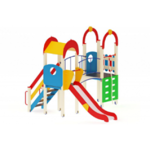 Детский игровой комплекс                           Рада Горка 1200                                           4370х3570х3000