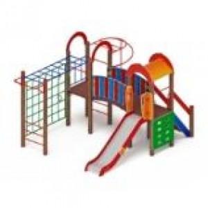 Детский игровой комплекс                           Рада Горка 1200                                           4960х3520х3000