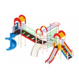 Детский игровой комплекс                           Дворик детства Горки 1200, 2000                                           8530х6170х4000