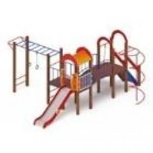 Детский игровой комплекс                           Рада Горка 1200                                           5800х6690х3000