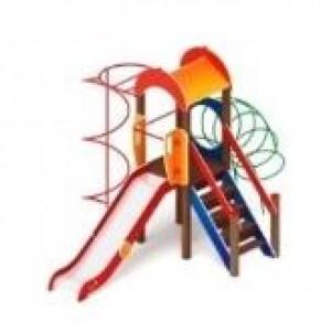 Детский игровой комплекс                            Играйте с нами Горка 1200                                           4920х3300х3000
