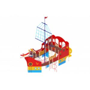 Детский игровой комплекс                           Фрегат Горки 1500, 2000                                           12600х8920х10500