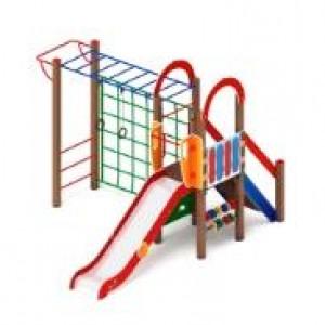 Детский игровой комплекс                            Играйте с нами Горка 1200                                           4190х3540х3000
