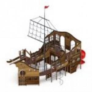 Детский игровой комплекс                           Фрегат Горки 1500, 2000                                           13260х9000х9500