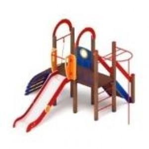 Детский игровой комплекс                           Играйте с нами Горка 1200                                           4100*4190*3000