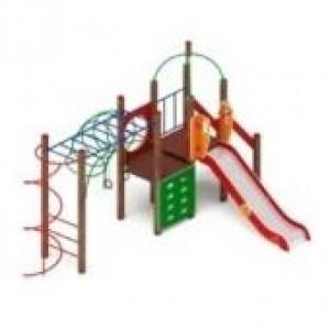 Детский игровой комплекс                          Навина Горка 1200                                           5850х4730х3200