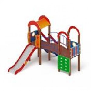Детский игровой комплекс                           Рада Горка 1200                                           4190х3580х3000
