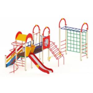 Детский игровой комплекс                           Рада Горка 1200                                           5270*7450*3000