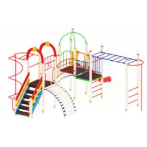 Детский игровой комплекс                           Навина Горка 1200                                           6880*5850*3200