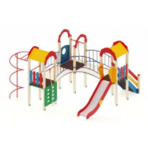 Детский игровой комплекс                           Городок Горка 1200                                           4880х4780х3000