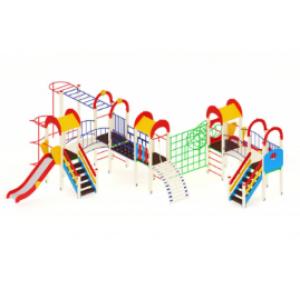 Детский игровой комплекс                           Солнышко Горка 1200                                           11080х9500х3000