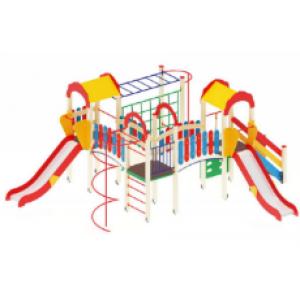 Детский игровой комплекс                           Городок Горка 1200                                           6700х5670х3000