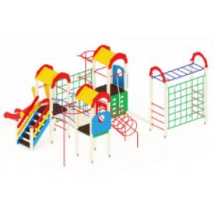 Детский игровой комплекс                           Городок Горка 1200                                           7460х5670х3000