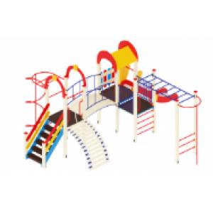 Детский игровой комплекс                           Рада Горка 1200                                           6870*5750*3000