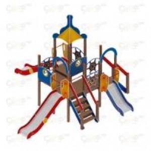 Детский игровой комплекс                           Морской Горки 900, 1200, 1500                                           6350х6260х4220