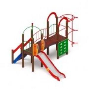 Детский игровой комплекс                           Навина Горка 1200                                           4090х4850х3200