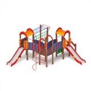 Детский игровой комплекс                           Городок Горка 1200                                           6710х5820х3000