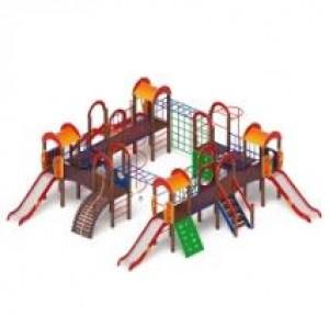 Детский игровой комплекс                           Остров детства Горка 1200                                           10700х9120х3000
