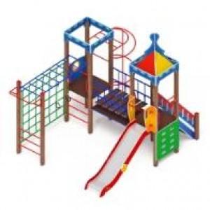H=1500  Детский игровой комплекс «Волшебный город»  4900х3520х4200